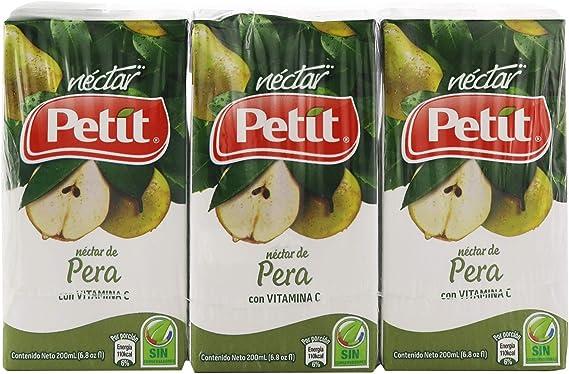 Néctar Petit Pera con vitaminas C 3PK: Amazon.es: Alimentación y bebidas