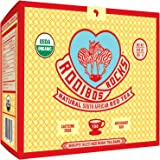 Rooibos Tea Immune Support Teabags - 100 USDA Organic Non GMO Naturally Caffeine Free South African Red Bush Herbal Tagless Tea Bags By Rooibos Rocks - Feel the Goodness and boost your immunity.