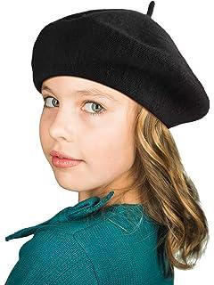 Iuhan Fashion Boys and Girls Children Wool French Beret Girls Artist Hat