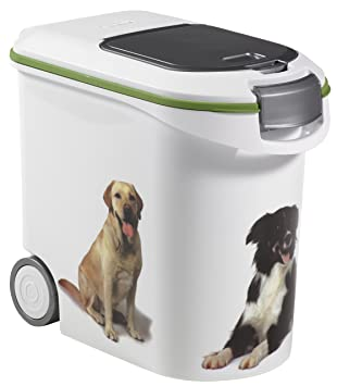 curver dry pet food container dog 12kg - Dog Food Containers