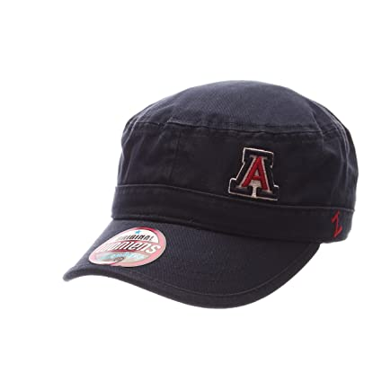 buy online 3736d cc150 ZHATS NCAA Arizona Wildcats Adult Women Women s Cadet Hat, Adjustable, Team  Color