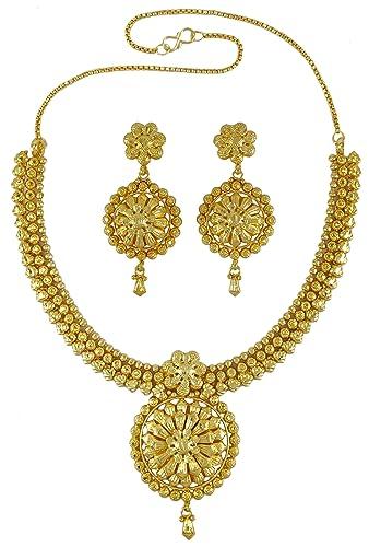 Banithani Ethnisches indisches traditionelles 18k Gold