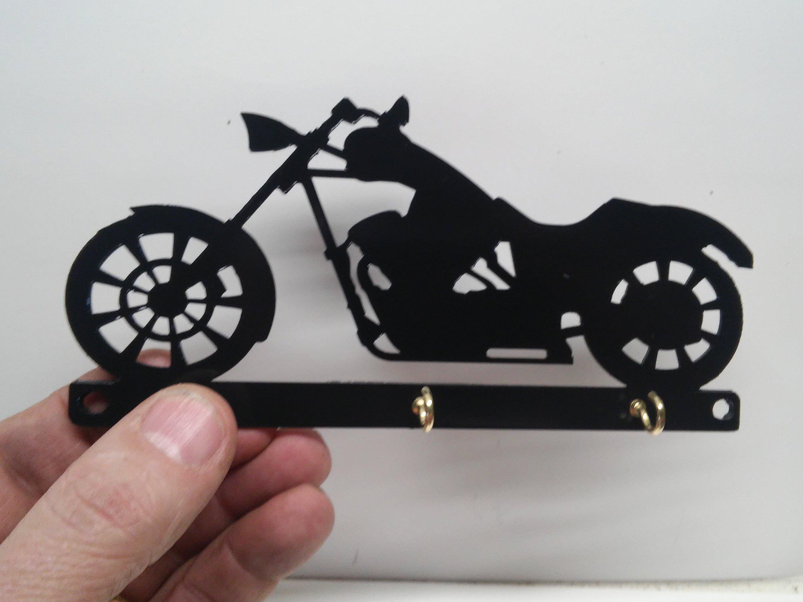 Chopper Motorcycle Key Holder Rack Hook Organizer Wall Mounted by Cycle Key Racks (Image #2)