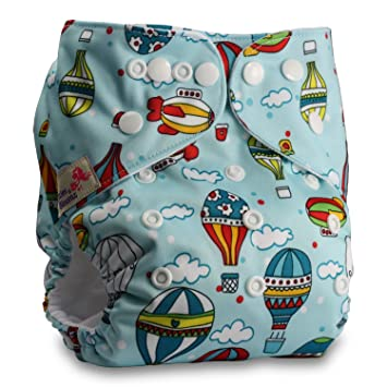 Pattern 35 Littles /& Bloomz Reusable Pocket Cloth Nappy Fastener: Hook-Loop Without Insert Set of 1
