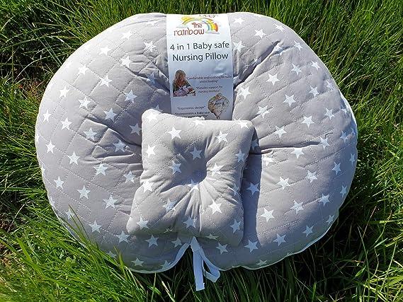 Deluxe Nursing Pillow, Unique 4 in 1