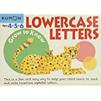 Grow to Know: Lowercase Letters (Ages 4 5 6)
