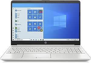 HP 15-dw2030ne Laptop, 15 inches FHD, 10th GenIntel® Core™ i7 processor, 8GB RAM, 1TB HDD - 128GB SSD, NVIDIA GeForce MX330 2GB, Windows 10 Home, EN-AR KB, Silver - Middle East Version