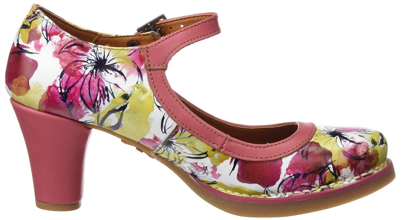 Art 1070 Fantasy St.Tropez, Zapatos de Tacón con Punta Cerrada para Mujer, Varios Colores (Flowers), 39 EU Art