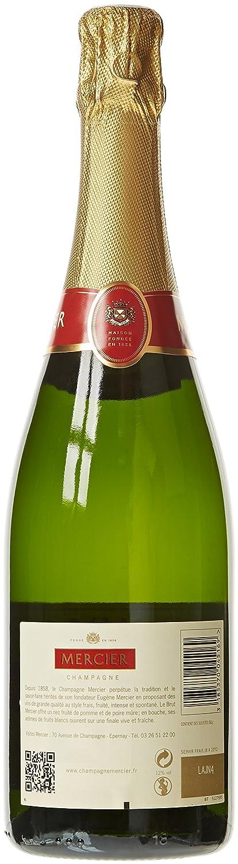 Sidste nye Mercier Champagne Brut 75 cl: Amazon.fr: Epicerie QT-32