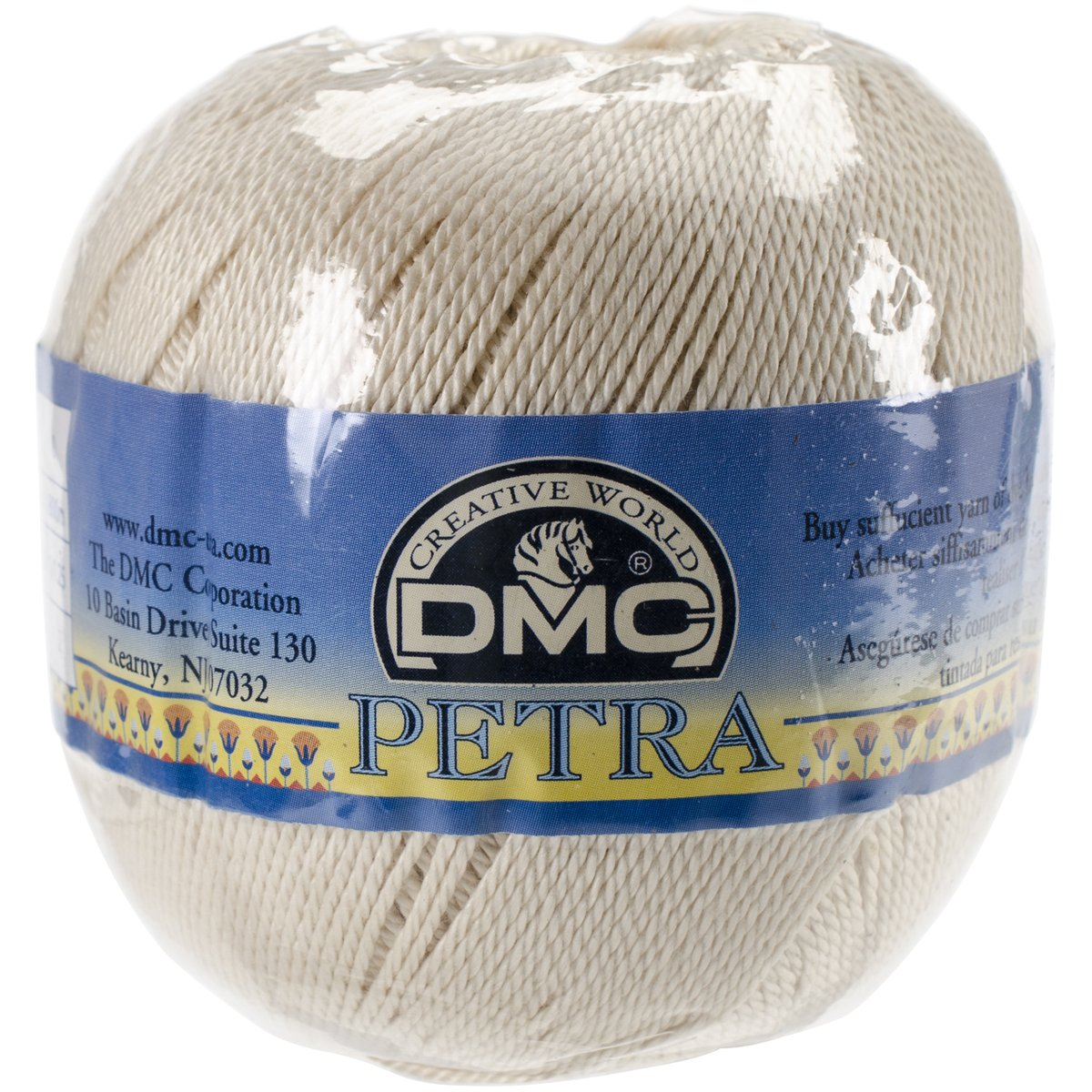 DMC Petra Crochet Cotton Thread, Size 3