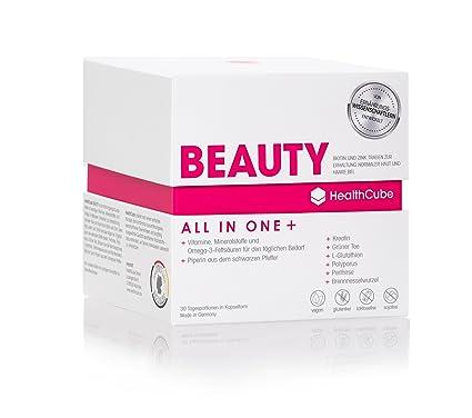 HealthCube® BEAUTY, complemento alimenticio premium especial para piel, cabello y