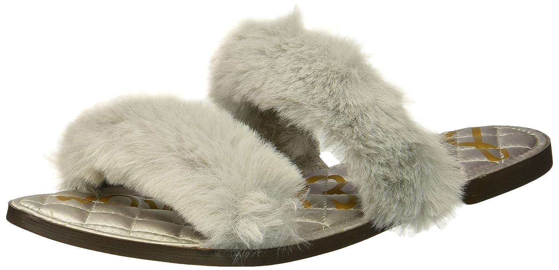 Sam Edelman Women's Griselda Slide Sandal B07BQZ2C91 7 B(M) US|Light Grey