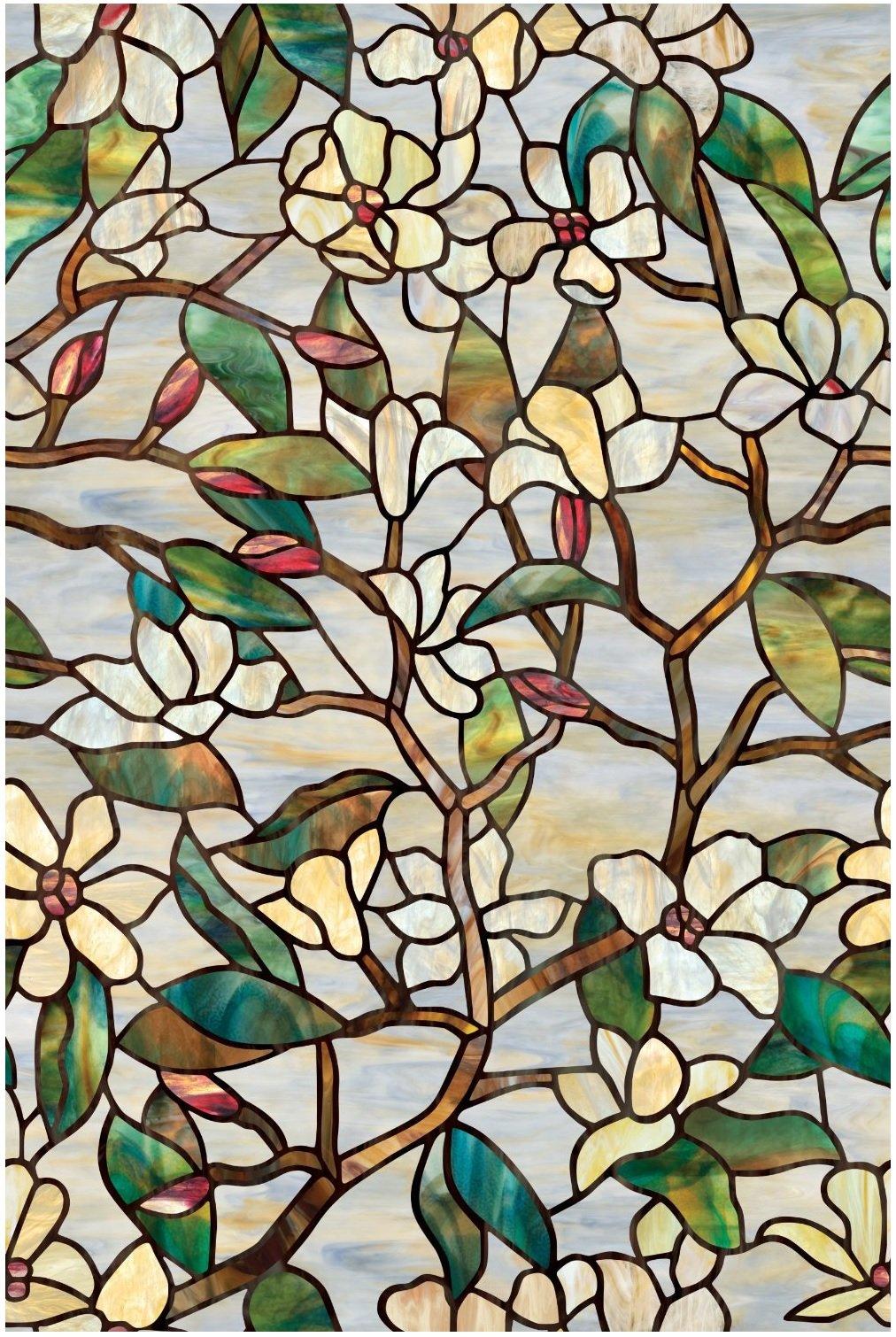 Artscape 01-0142 24'' X 36'' Summer Magnolia Window Film
