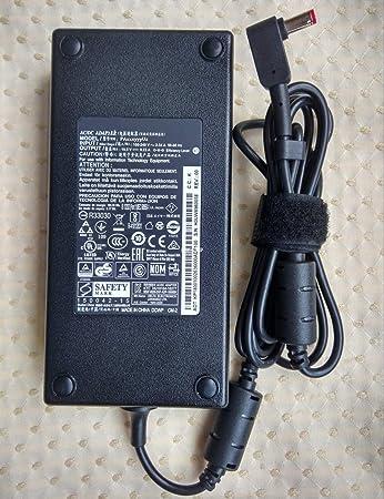 Amazon.com: Cargador original 19V 9.23A 180W Cargador AC ...