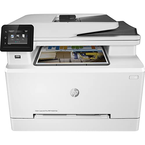 HP Color Laserjet Pro MFP M281fdn Impresora láser multifunción LAN fax copiar escanear Imprimir en Color 21 ppm Color Blanco