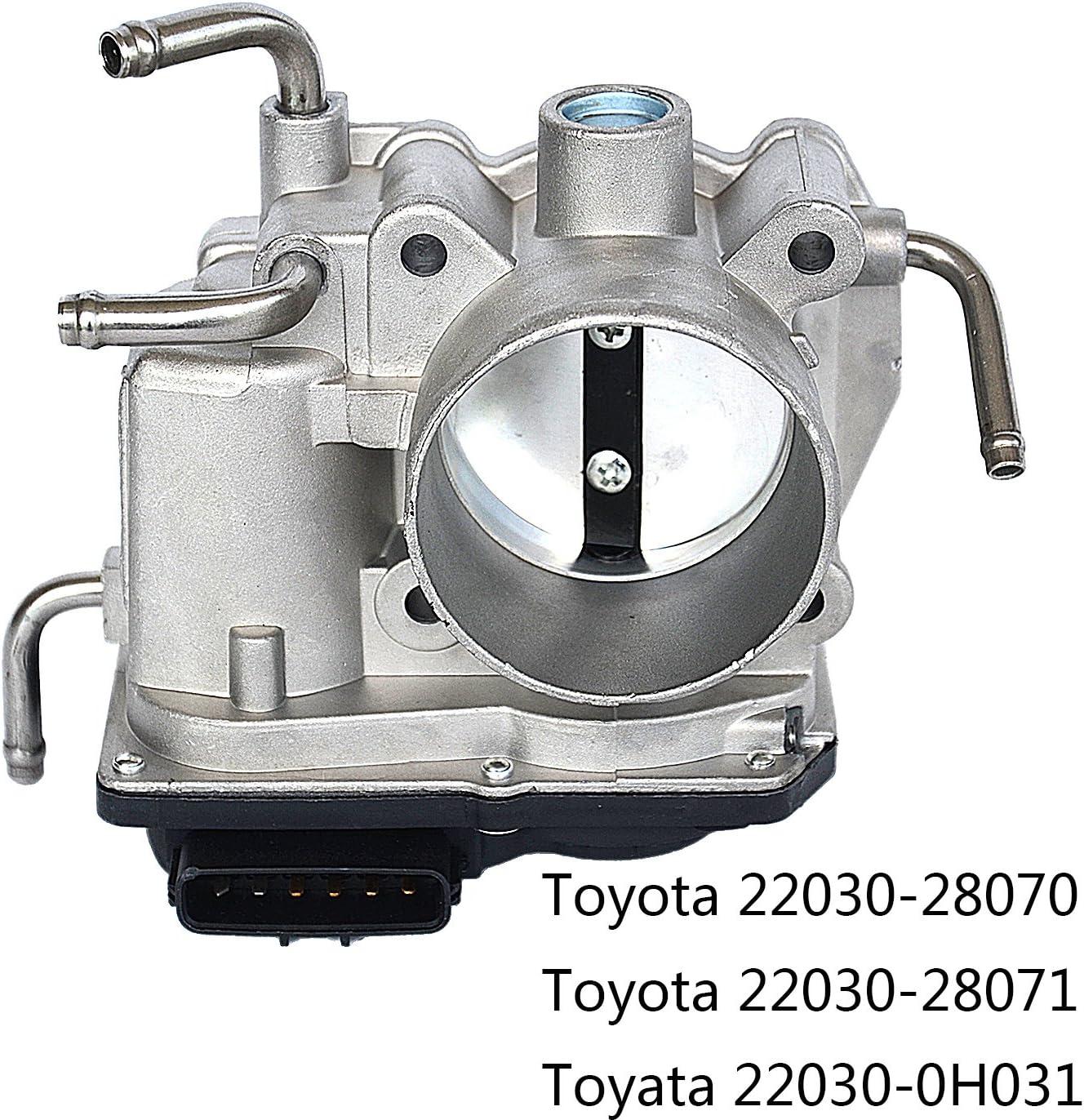 22030-28070 Throttle Body For Toyota Camry Scion RAV4 Matrix 2.4L
