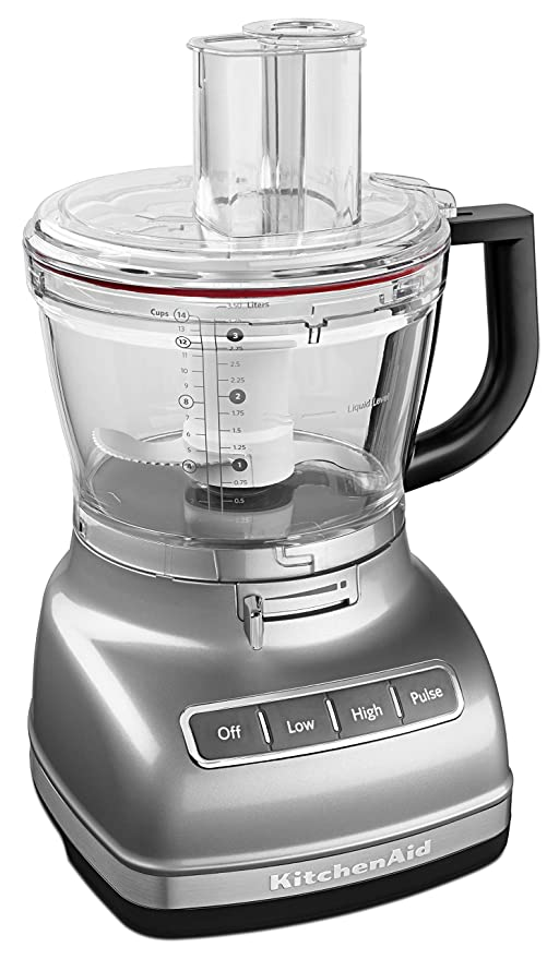 Marvelous Kitchenaid Kfp1466Cu 14 Cup Food Processor With Exact Slice System And Dicing Kit Contour Silver Interior Design Ideas Helimdqseriescom