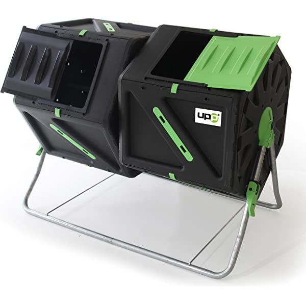 UPP compostador de tambor con 2 cámaras cada compostador ...