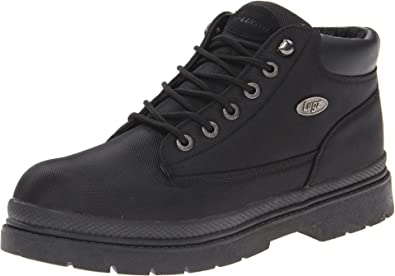 Lugz Rally MRALLYMK-747 Mens Brown Nubuck Leather Lace Up Casual Dress Boots