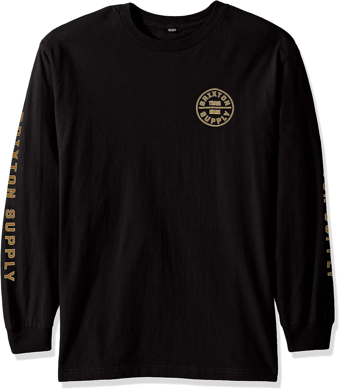 Brixton Men's Oath Iv Standard Fit Long Sleeve T-Shirt