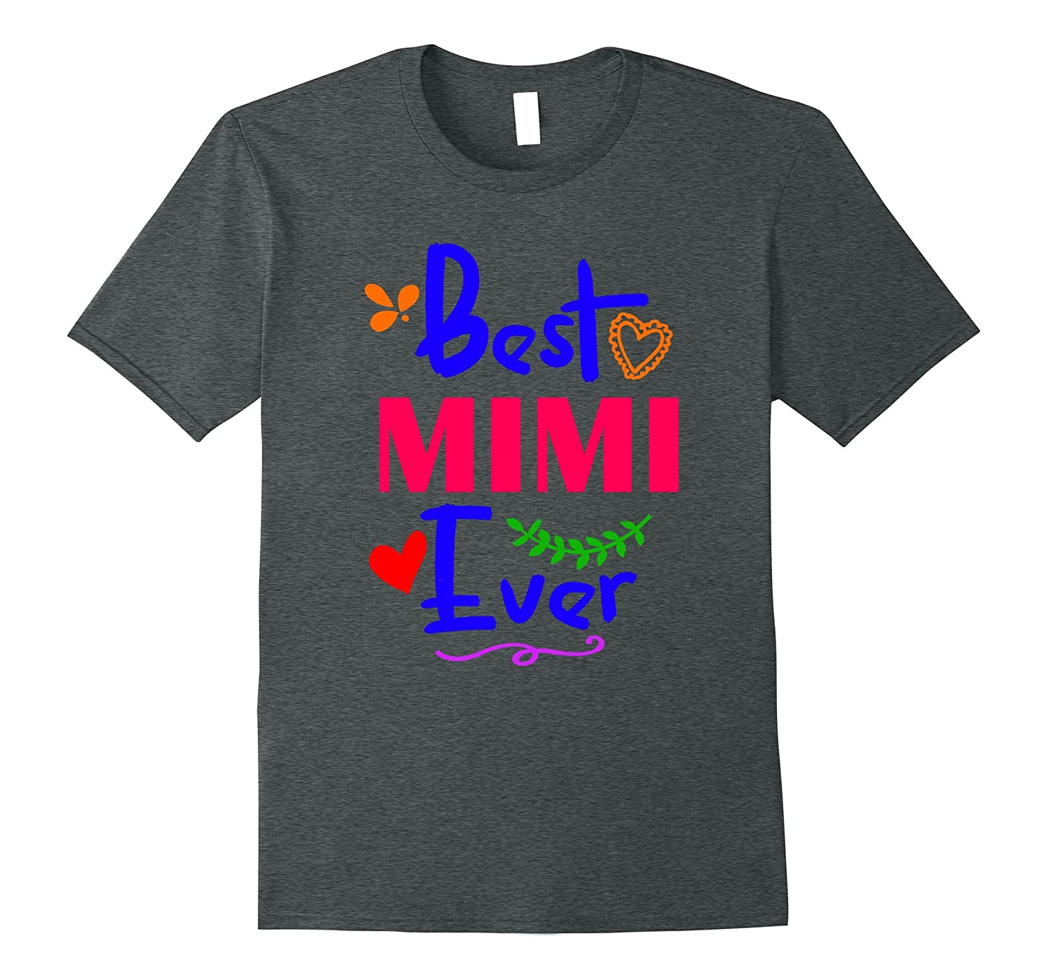 Best Mimi Ever Mothers Day Christmas Tshirt for Grandma-Vaci
