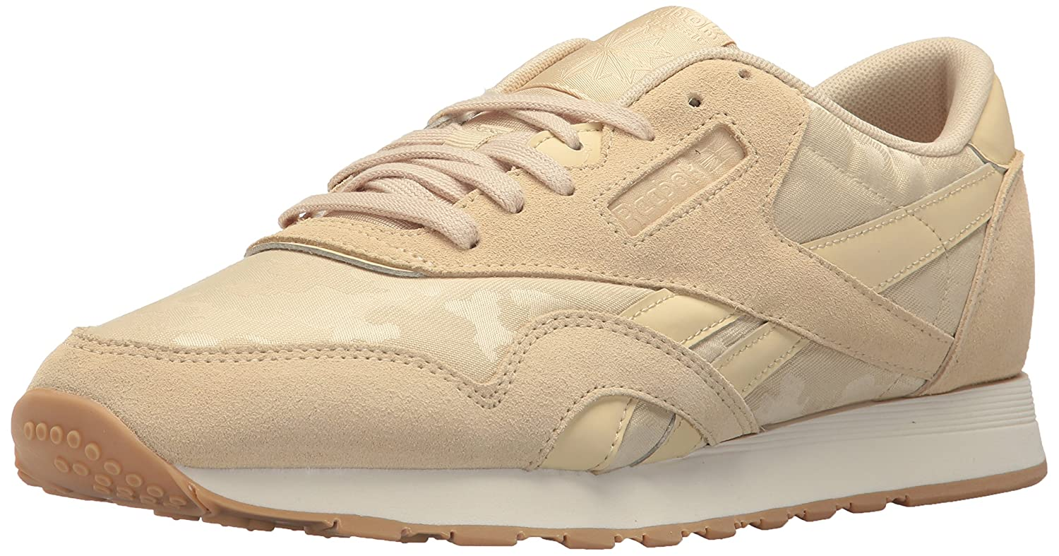 Reebok メンズ CL NYLON SG B072M6X7PC 14 D(M) US|Straw/Chalk Straw/Chalk 14 D(M) US