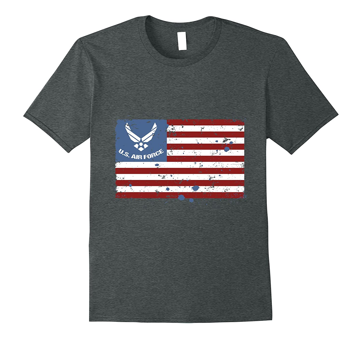 US Air Force American Flag T Shirt For Men, Women & Kids-4LVS
