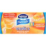 NESTLE PURE LIFE EXOTICS Sparkling Water, Tangerine, 12-ounce cans (Pack of 8)
