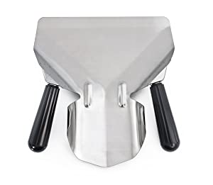 New Star 37784 Stainless Steel Commercial French Fry Bagger, Dual Handle