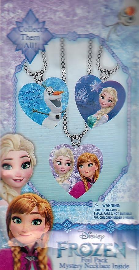 d380937a68df2 Amazon.com: Disney Frozen Mystery Necklace Blind Foil Pack: Toys & Games