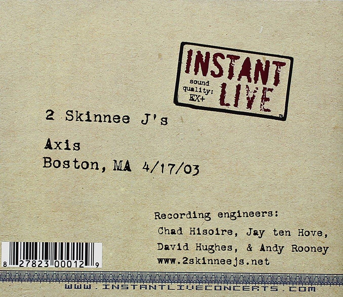 Instant Live: Boston, MA Axis 04-17-03