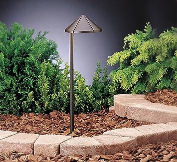 15315AZT Side Mount 1LT Incandescent/LED Hybrid LV Landscape Path U0026 Spread  Light, Textured