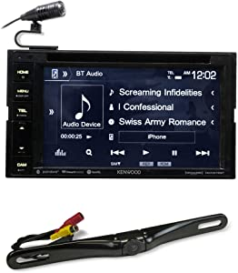 "Kenwood DDX276BT 6.2"" in-Dash DVD Monitor Bluetooth Receiver w/USB+Backup Camera"