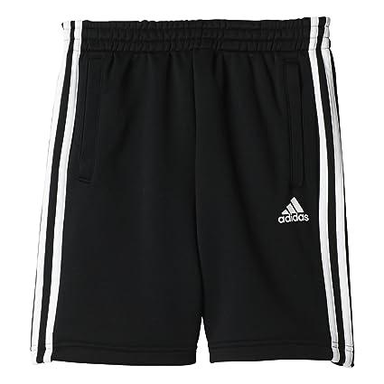 laest technology heiß-verkauf echt große sorten adidas YB 3S KN Short Kurze Hose für Junge, Schwarz (Schwarz), 128