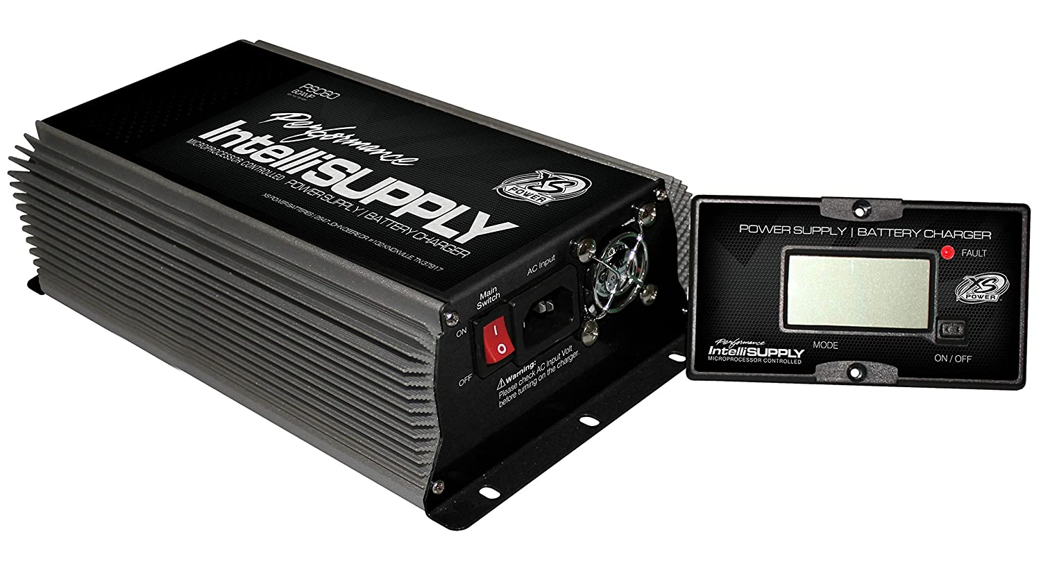 XS Power PSC60 Power Supply with AGM Charge Mode 60A, 12V, 14V, 16V