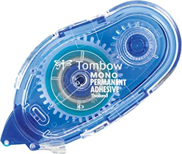 Tombow MONO Permanent Adhesive Applicator, 1/3-Inch by 472-Inch (62106)