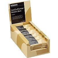 Amazon Brand - Solimo Vanilla Chocolate Flavoured Protein Bars - 24 pack