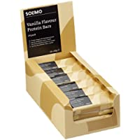 Amazon Brand - Solimo Vanilla Chocolate Flavoured Protein Bars - 24 pack