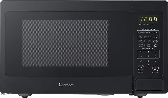 Amazon.com: Kenmore Elite Black 70919 Microondas de encimera ...