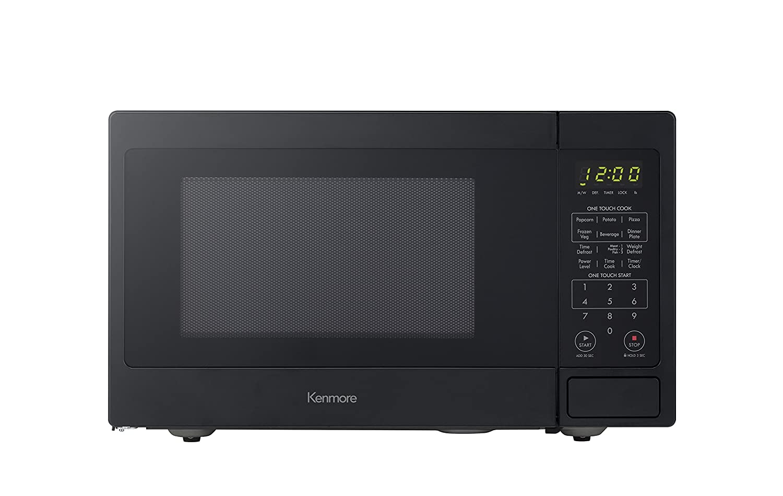 Kenmore 70919 Countertop Microwave, 0.9 cu. ft, Black