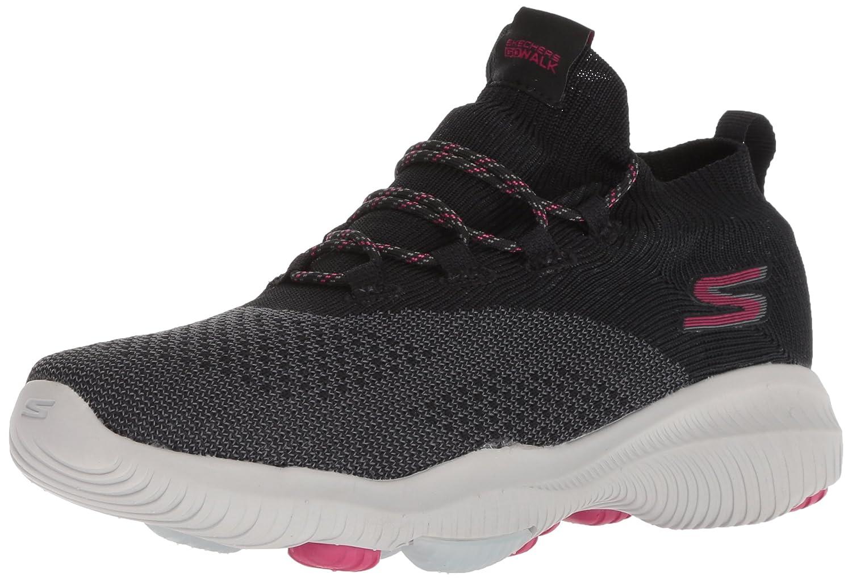 Skechers Women's Go Walk Revolution Ultra Sneaker B078GPFLVK 9 B(M) US|Black/Hot Pink