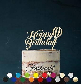 Cake Topper Tortenstecker Happy Birthday Tortefigur Acryl