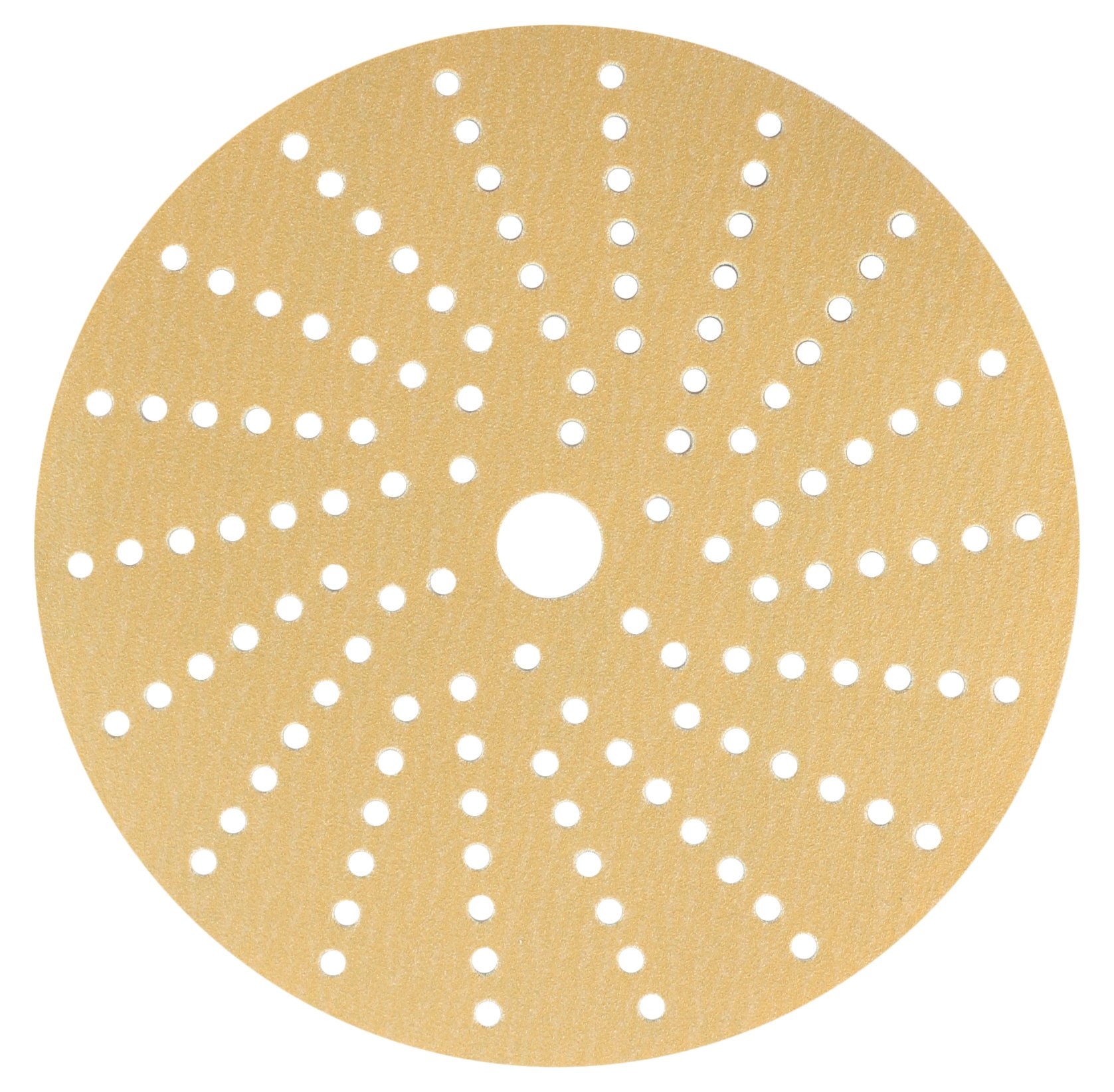 Sunmight 58611 1 Pack 6'' Multi Hole Velcro Disc (Gold Grit 220)