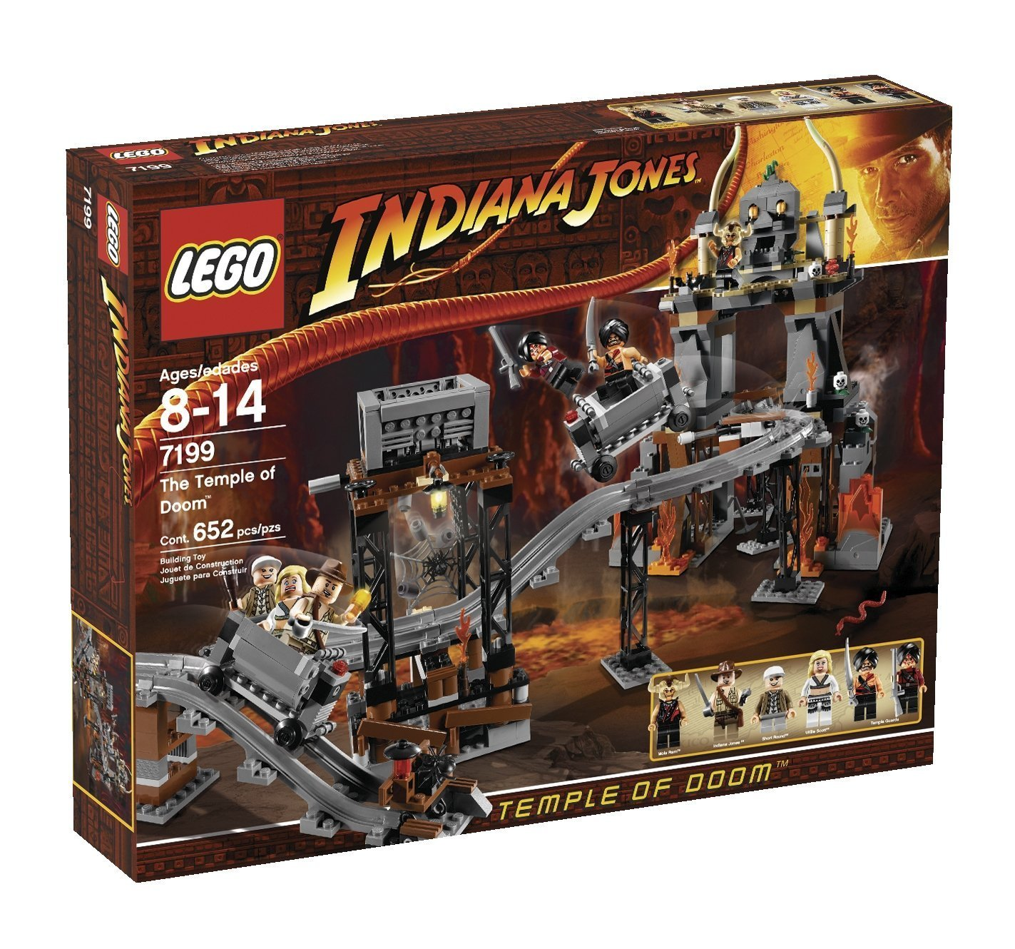 amazon com lego indiana jones temple of doom 7199 toys u0026 games
