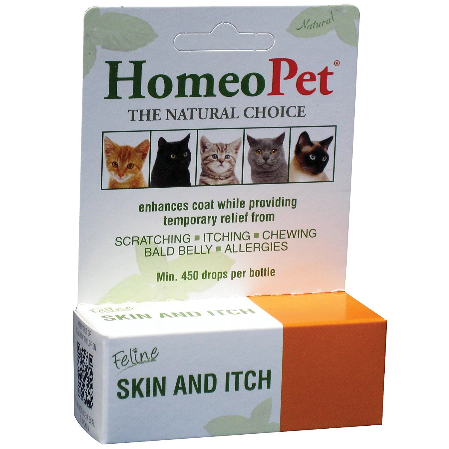 HomeoPet Feline Skin & Itch by HomeoPet