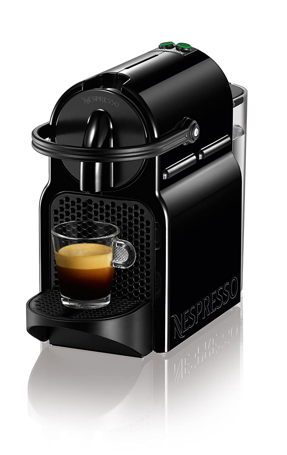 Nespresso inissia coffee espresso pod machine by magimix in black 50183991135 - Machine nespresso 2 tasses ...