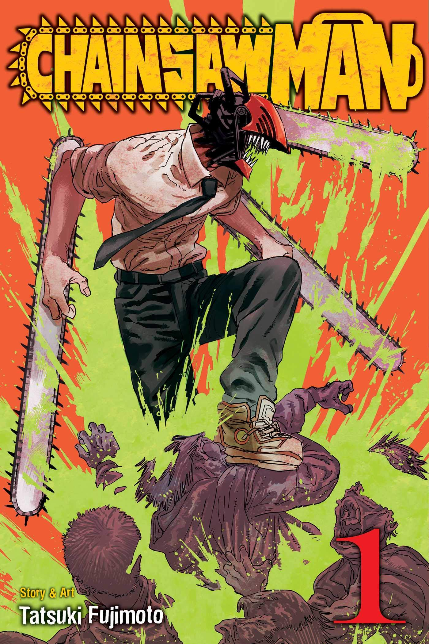 Chainsaw Man, Vol. 1 (1): Fujimoto, Tatsuki: 9781974709939: Amazon.com:  Books