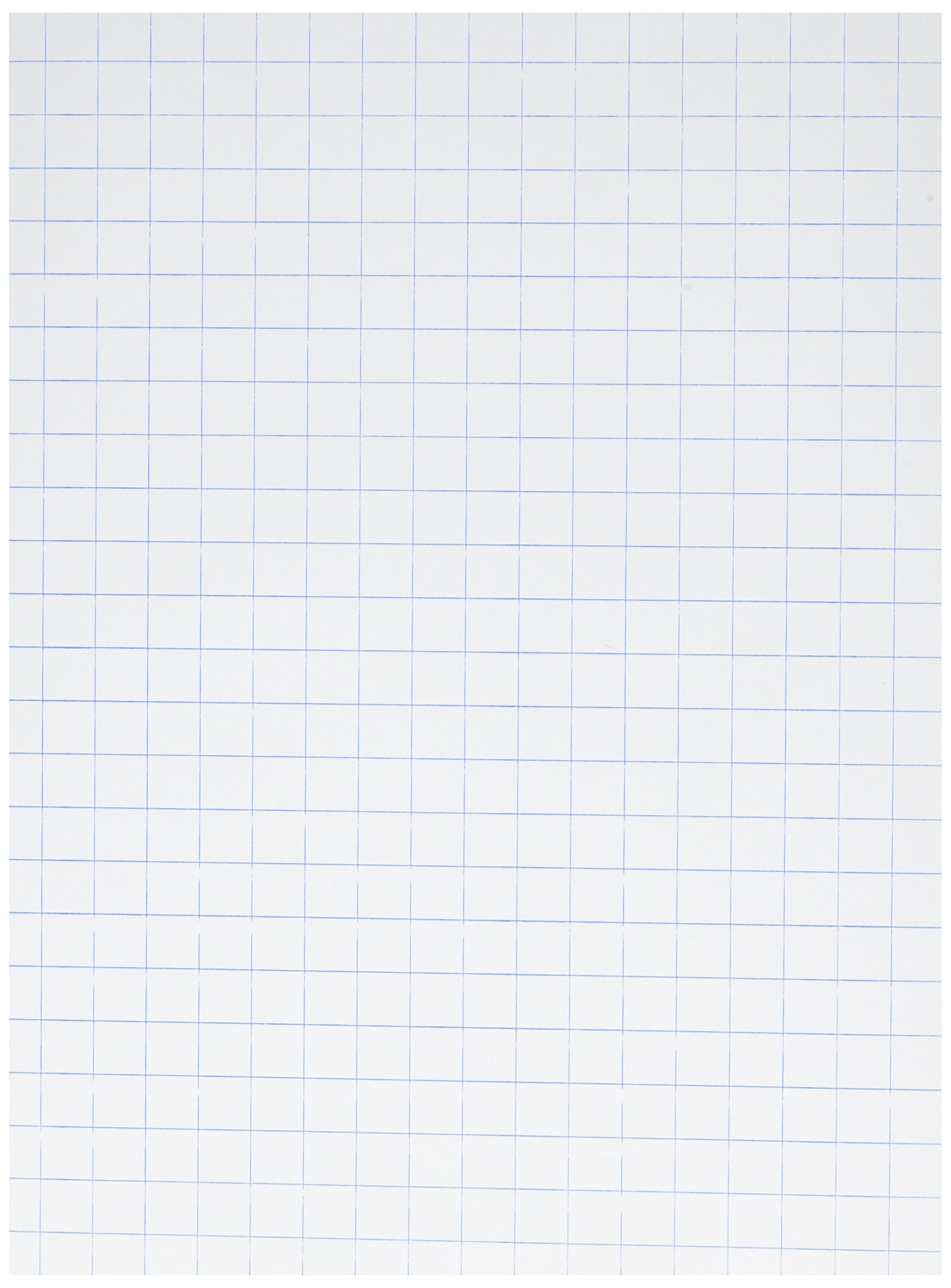 school smart graph paper 1 2 inch rule 9 x 12 inches white pack