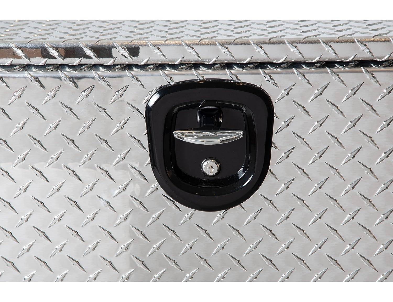 18x18x24 Inch Buyers Products Diamond Tread Aluminum Underbody Truck Box w// T-Handle Latch