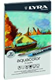 LYRA Aqua Color Water-Soluble Wax Crayons, Set of 12, Assorted Colors (5611120)